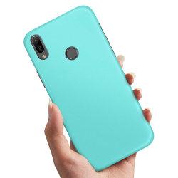 Huawei Y6 (2019) - Skal / Mobilskal Turkos Turkos