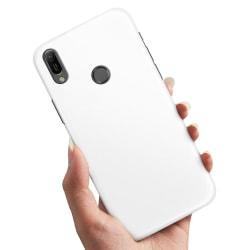 Huawei Y6 (2019) - Skal / Mobilskal Vit Vit
