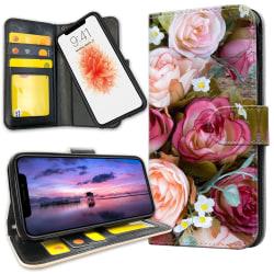 iPhone 11 Pro Max - Plånboksfodral Blommor
