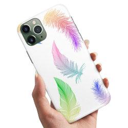 iPhone 11 - Skal / Mobilskal Fjädrar