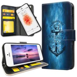iPhone 5C - Plånboksfodral Ankare