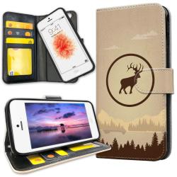 iPhone 5C - Plånboksfodral Deer