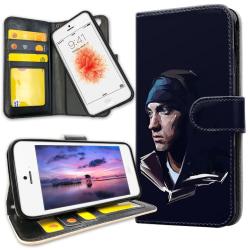 iPhone 5C - Plånboksfodral Eminem
