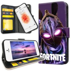 iPhone 5C - Plånboksfodral Fortnite