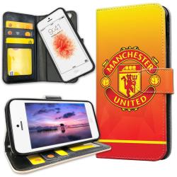 iPhone 5C - Plånboksfodral Manchester United