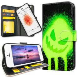 iPhone 5C - Plånboksfodral Monster