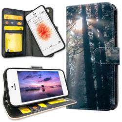 iPhone 5C - Plånboksfodral Sunshine