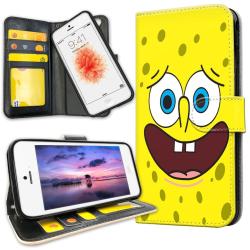 iPhone 5C - Plånboksfodral Svampbob