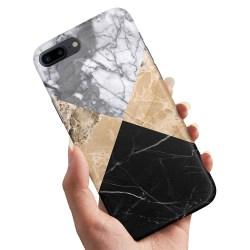 iPhone 7 Plus - Skal / Mobilskal Marmor