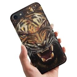 iPhone 7 - Skal / Mobilskal Rytande Tiger