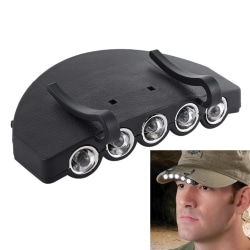 LED Huvudlampa / Pannlampa för Keps