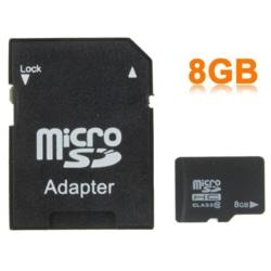 microSDHC 8GB Class 10