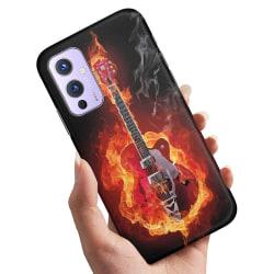 OnePlus 9 - Skal / Mobilskal Hell Guitar