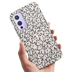 OnePlus 9 - Skal / Mobilskal Kattgrupp