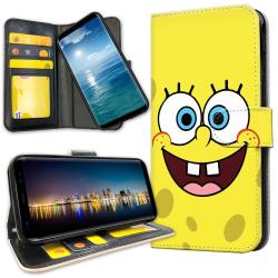 Samsung Galaxy A10 - Plånboksfodral Svampbob