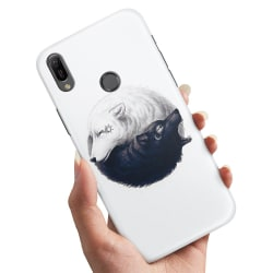 Samsung Galaxy A20e - Skal / Mobilskal Yin & Yang Vargar