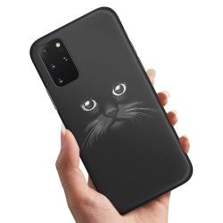 Samsung Galaxy A51 - Skal / Mobilskal Svart Katt
