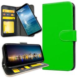 Samsung Galaxy J4 Plus - Plånboksfodral Limegrön Limegrön