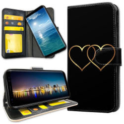 Samsung Galaxy S20 - Plånboksfodral Double Hearts