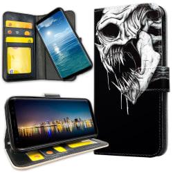 Samsung Galaxy S20 Ultra - Plånboksfodral Döskalle Monster