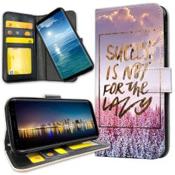 Samsung Galaxy S20 Ultra - Plånboksfodral Success Not Lazy