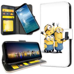 Samsung Galaxy S8 Plus - Plånboksfodral Minions