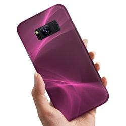Samsung Galaxy S8 Plus - Skal / Mobilskal Purple Fog