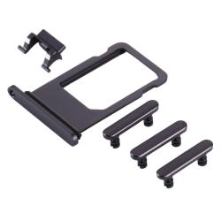 Simkortshållare & Sidoknappar - Hållare Simkort till iPhone 8