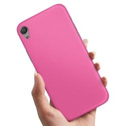 Sony Xperia X - Skal / Mobilskal Magenta Rosa