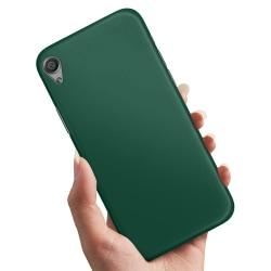 Sony Xperia X - Skal / Mobilskal Mörkgrön Mörkgrön