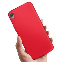 Sony Xperia X - Skal / Mobilskal Röd Röd