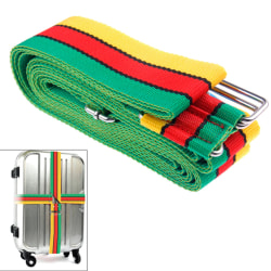Väskbälte / Bagagerem / Bälte för Resväska - 4 Meter