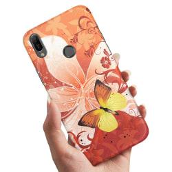 Xiaomi Mi A2 Lite - Skal / Mobilskal Fjäril & Blomma