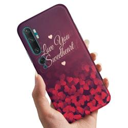 Xiaomi Mi Note 10 Pro - Skal / Mobilskal Hjärtan Love