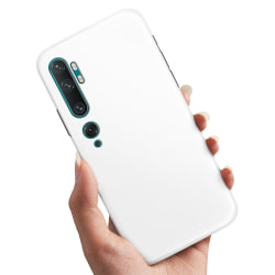 Xiaomi Mi Note 10 Pro - Skal / Mobilskal Vit Vit