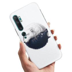 Xiaomi Mi Note 10 Pro - Skal / Mobilskal Yin & Yang Vargar