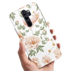 Xiaomi Redmi Note 8 Pro - Skal / Mobilskal Blommönster