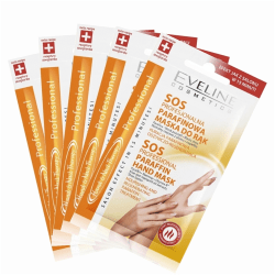 5st*7 ml SoS Hand & Nail Therapy Professional Paraffin Hand Mask