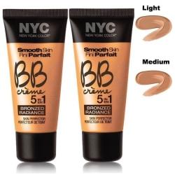 2st NYC Smooth Skin BB Creme 5 in 1 Bronzed Radiance-Light