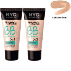 2st NYC Smooth Skin BB Crème 5 In 1 Instant Matte-Medium