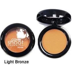 CoverShootNoMoreShineBlusher - Light Bronze Brons