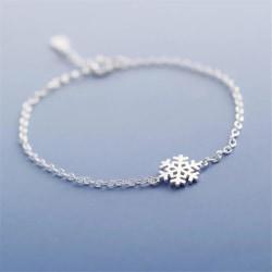 Silver Armband till Jul / Christmas - Snöflinga  Silver