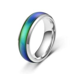 Humörring / Humörsring / Moodring / Känsloring / Ring - Stl 18 Silver