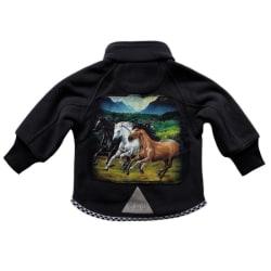 Fleecejacka Hästar 120