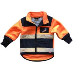 Fleecejacka med Loxy-reflex Orange 100