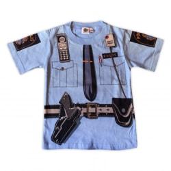 T-shirt Poliströja Blå 100 (104/110)