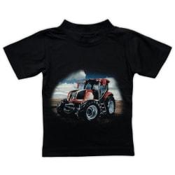 T-shirt Röd Traktor 90 (86/92)