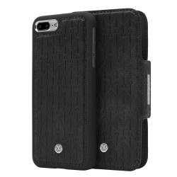 iPhone 7/8 Plus Marvêlle Magnetiskt Skal & Plånbok Svart