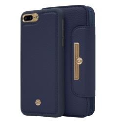 iPhone 7/8 Plus Marvêlle Magnetiskt Skal & Plånbok Marinblå