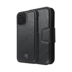 iPhone 12 / 12 Pro Magnetisk Plånbok & Skal Marvêlle Svart